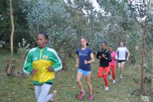 Forest Running in Ethiopia