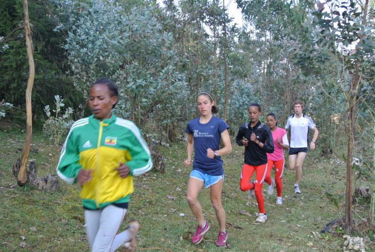 Forest Running in Ethiopia…