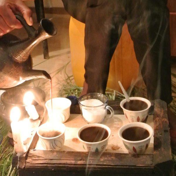 The Ethiopian Coffee Ceremony