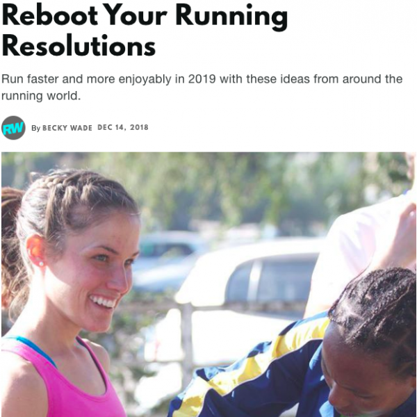 Reboot Your Running Resolutions