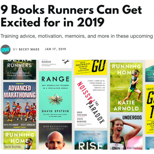 9 Running Books Coming in 2019