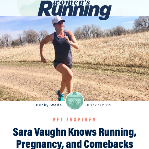 Sara Vaughn on Running, Pregnancy & Comebacks