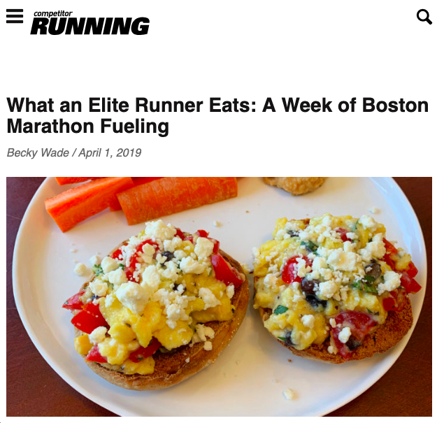 Everything I Ate During a Week of Boston Training