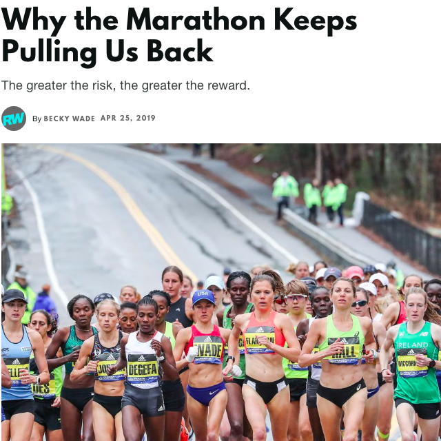 Why the Marathon Keeps Pulling Us Back