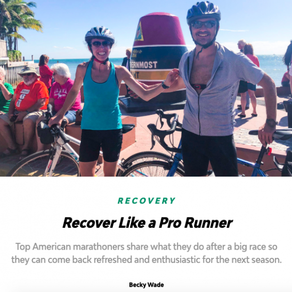 Recover Like a Pro Runner