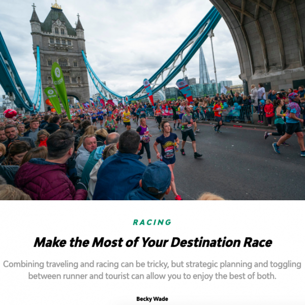 Destination Race Tips