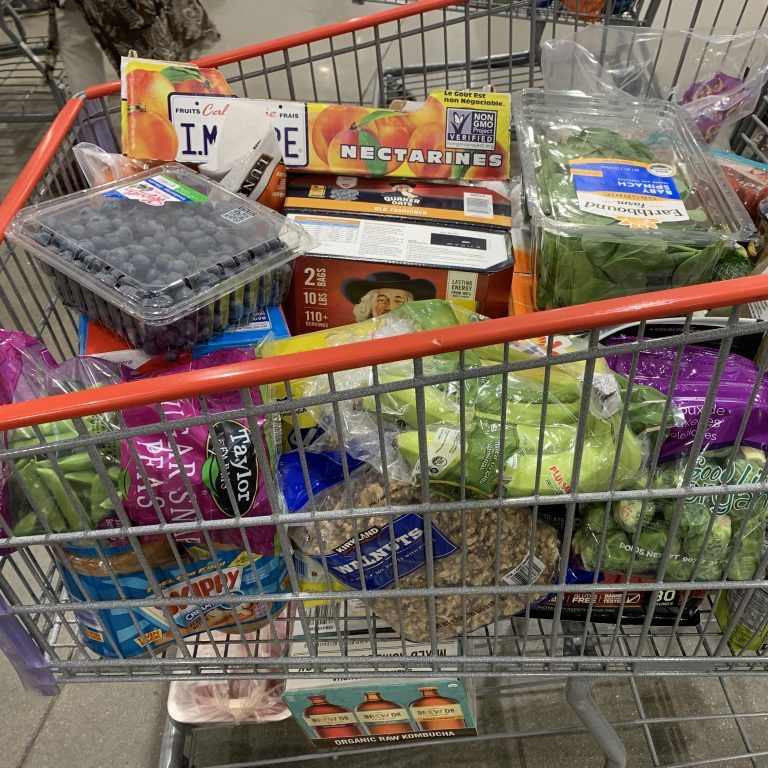 A Typical 2-Person Costco Trip