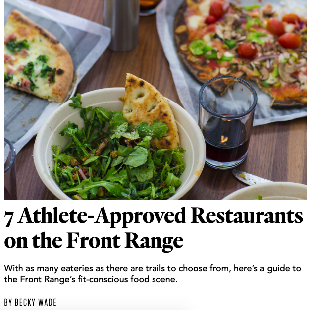 7 Favorite Athlete-Approved Restaurants