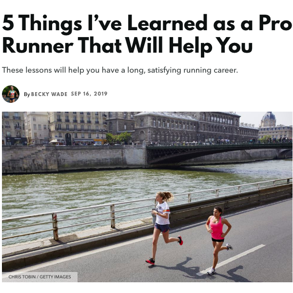 5 Key Lessons I've Learned as a Pro