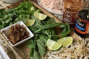 Pho: Vietnamese Soup with Noodles & Chicken